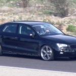 Jaunā Audi A3 Sedana spiegu foto